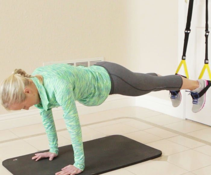 how to do TRX exercises at home