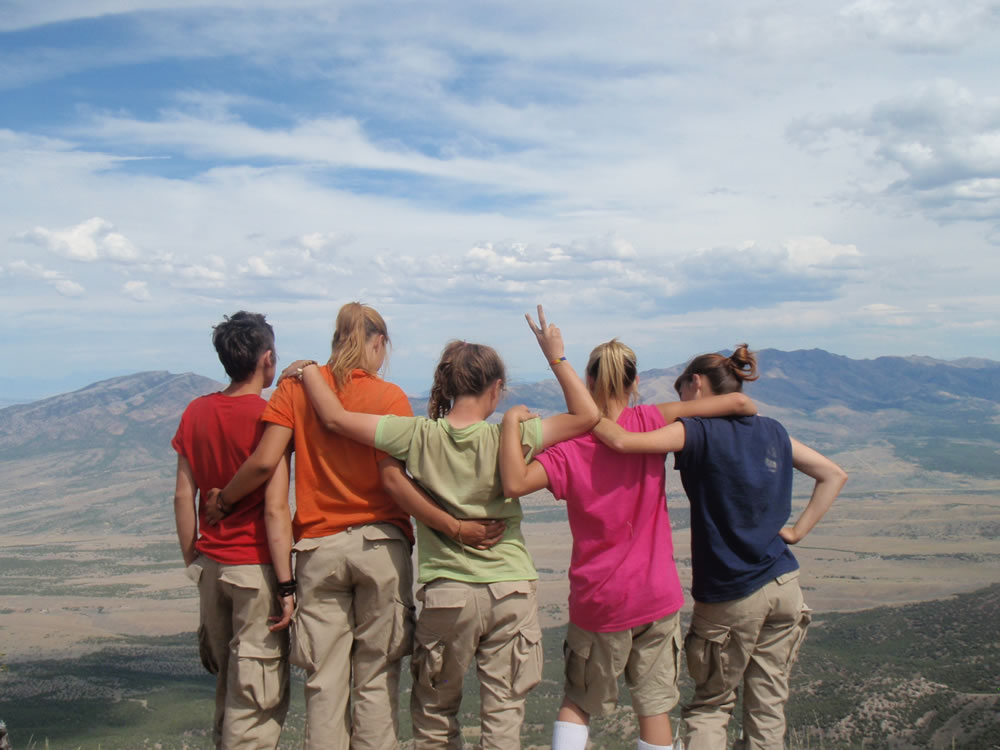 Wilderness therapy for troubled youth