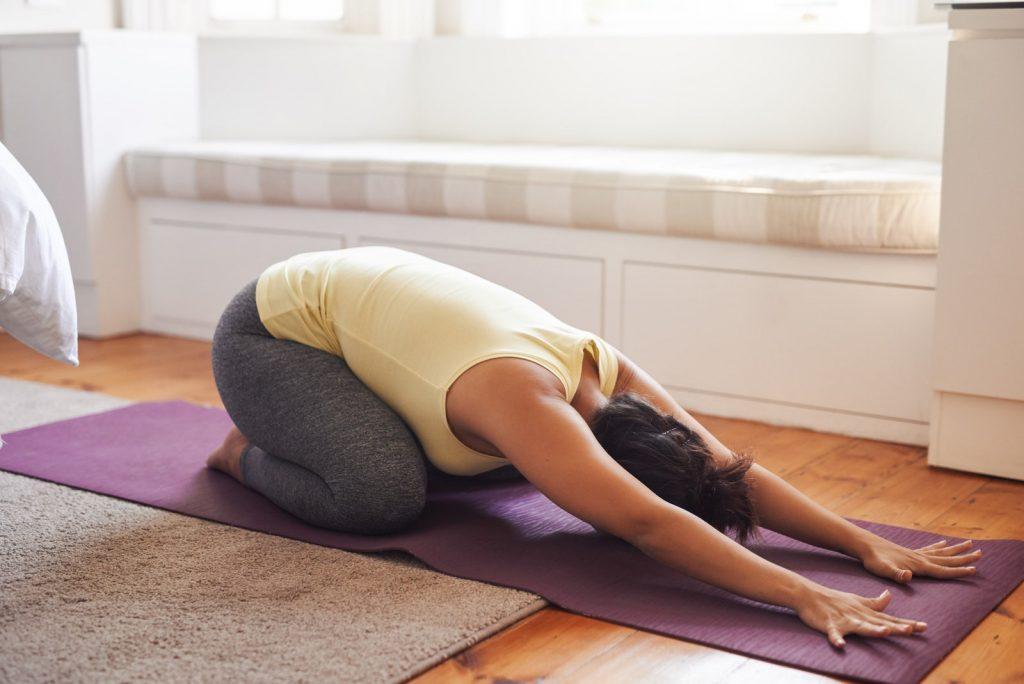 yoga at home Australia