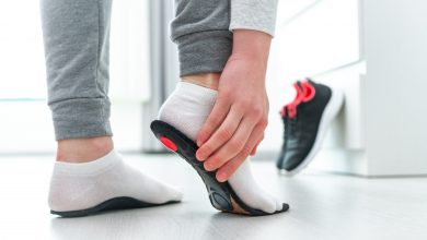Use orthotic insoles for healthy